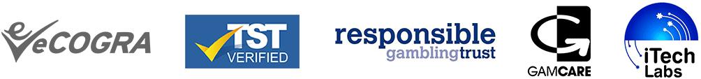 ecogra-tst-verified-responsible-gambling-trust-gamcare-itech-labs