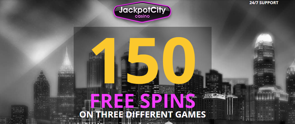 Free spins promotion at a casino.