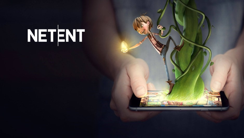 NetEnt's promotional banner.