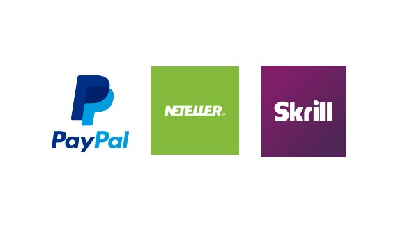 Selection of payment options.