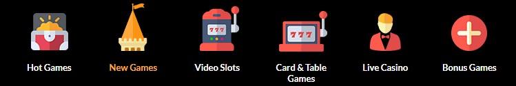 Game types variety.
