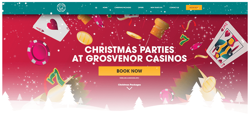 Christmas Party Grosvenor Casino