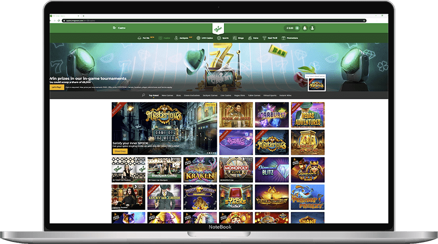 Mr Green Desktop Casino